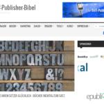 Artikel von Buchlayouter Johann-Christian-Hanke in der Selfpublisherbibel