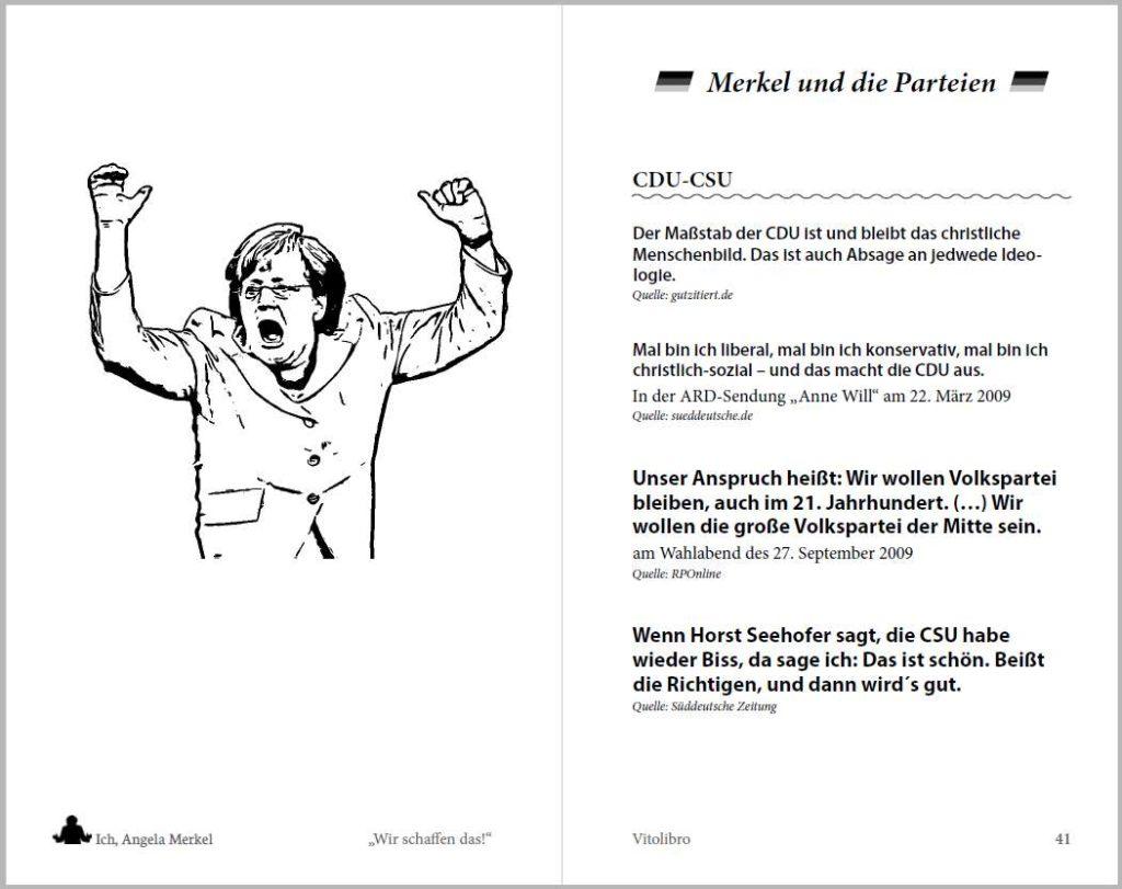 Ausschnitt aus Merkel-Buch, gesetzt von Johann-Christian Hanke