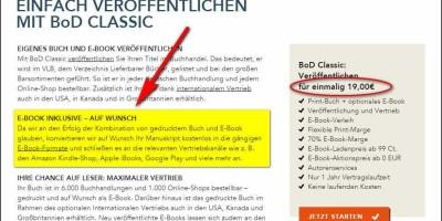 BoD bietet auf Wunsch kostenlose E-Book-Konvertierung aus Ihrer PDF-Datei