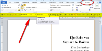 Die ultimative Word-Toolbar für Buchlayouter