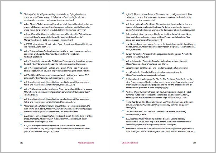 Erde 5.0 von KHLand, Satz: JCHanke: Sorgfältig recherchiertes Buch mit fast 200 Fußnoten
