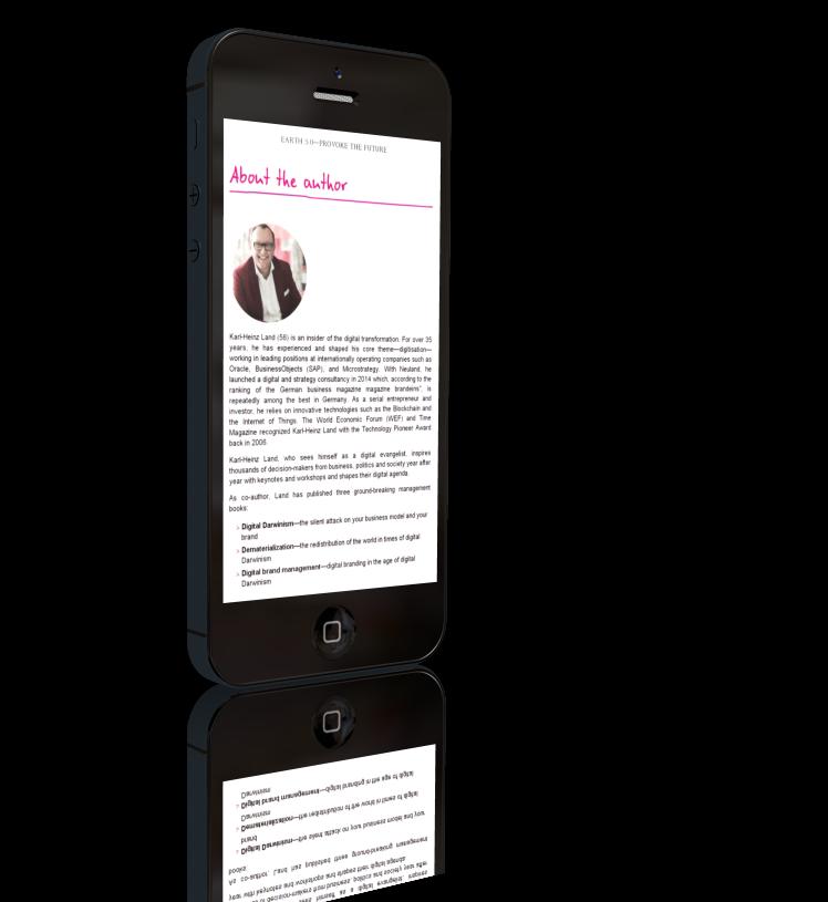 E-Book von Erde 5.0 von Karl-Heinz-Land auf dem iPhone