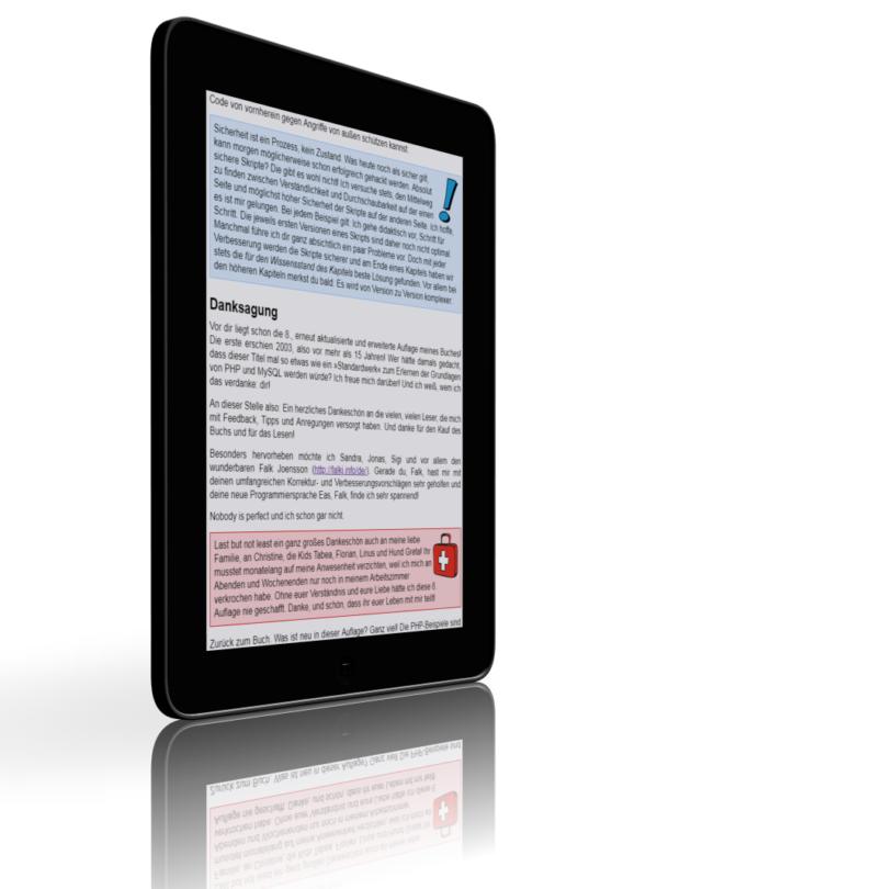 Danke! 8. Auflage von Johanns Buch PHP und MySQL für Kids endlich erschienen