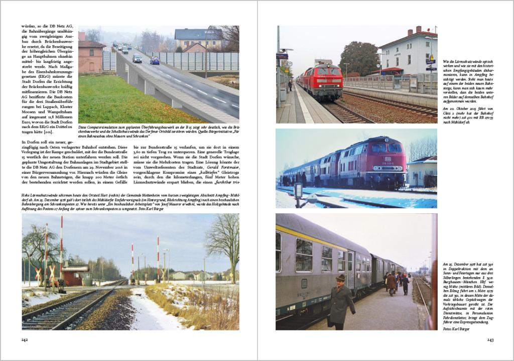 Fotos in tlw. hervorragender Druckqualität auf Kunstdruckpapier