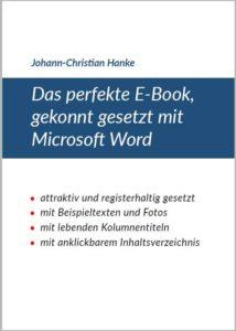 Perfektes E-Book: Das Cover lädt zum Lesen ein